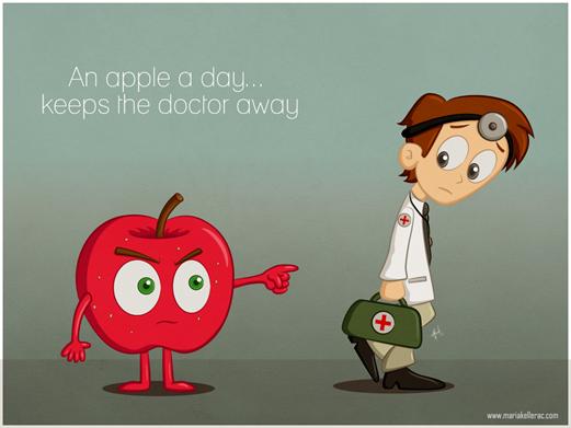 Ένα μήλο την ημέρα τον γιατρό τον κάνει πέρα. Μύθος ή αλήθεια;